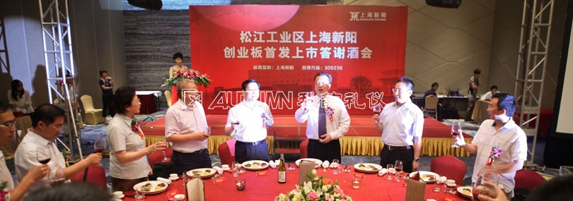 Songjiang Industrial Zone, Shanghai Xinyang GEM IPO Cocktail Party