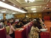 绿环洗染有限公司成立十周年暨GEP和意绿王十佳干洗店加盟连锁表彰大会