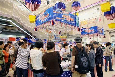 上海秋韵礼仪庆典-2011第一食品美国食品节8