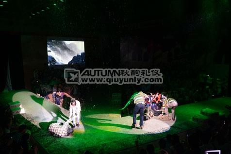 """上海秋韵礼仪庆典-德国camel active2012秋冬""""全球视野""""品牌时尚秀10"""