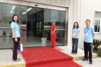 Yanfeng Visteon plant completion ceremony for Songjiang factory