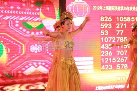 秋韵上海礼仪庆典=新冠美家具上海制造中心开幕仪式2