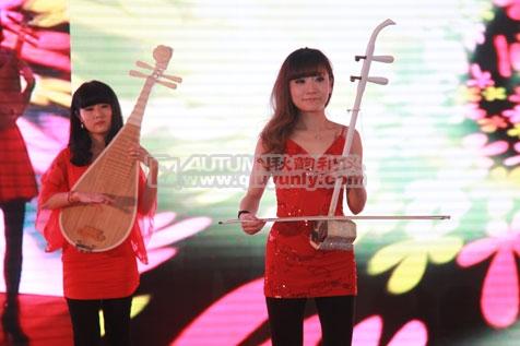 秋韵上海礼仪庆典=新冠美家具上海制造中心开幕仪式4