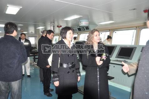 秋韵上海礼仪庆典-1.65万吨化学品船(JZ1009)命名仪式1