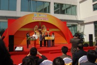 "Pujiang Town Sports Center new building starts and the ""Dongxiang Culture Club"" unveiling ceremony"