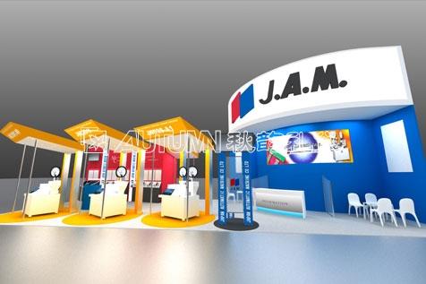 商业活动 展览展示 > j.a.m.公司展位设计