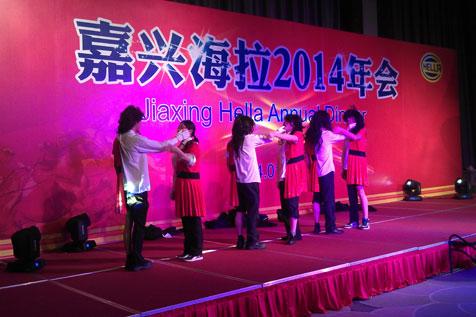 上海秋韵嘉兴海拉灯具有限公司2014年会11