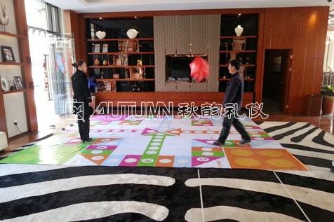 杭州秋韵北京远洋基业杭州分公司2014迎新趣味运动游园会3